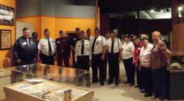 Post 174 Willits, CA Hosts Veterans History Exhibit