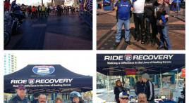 "American Legion Riders Escort ""Ride to Recovery"""