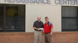 American Legion #155 Family Donates To Special Olympics