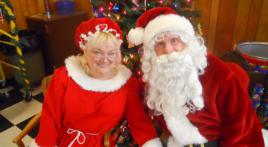 Santa Retires at Post 13 in Cumberland, Md .