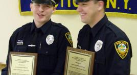 Utica Legionnaires Honor Police Officers of the Year