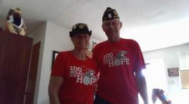 100 Miles for Hope update