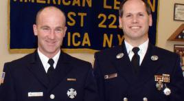 Utica Post 229 Honors Firefighter and EMT of the Year