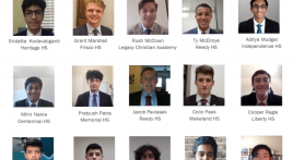 AMERICAN LEGION POST 178  SELECTS  2021 TEXAS BOYS STATE DELEGATES