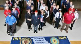 Department of Missouri American Legion Family brings Centennial Celebration to Missouri Veterans Home-Warrensburg
