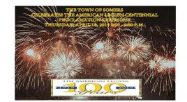Somers American Legion centennial event April 18