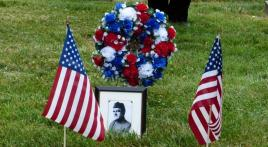 Department of Iowa commemorates the grave of their first commander, LTG Mathew Tinley