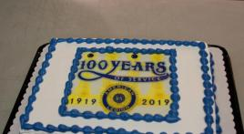 And yes, we did sing 'Happy Birthday to You'