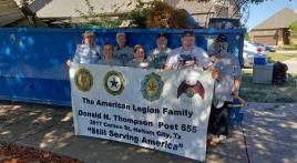 Post 655 helps an active-duty member's mother