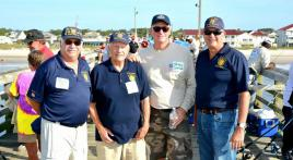 American Legion Post 543 hosts fishing event for wounded veterans