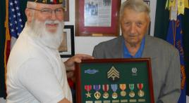 World War II veteran finally gets his medals