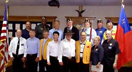 Republic of China veterans visit Texas Legion post