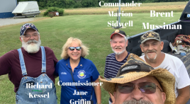 Post 367 (Ripley, Ohio) leads Veterans Food Pantry drive