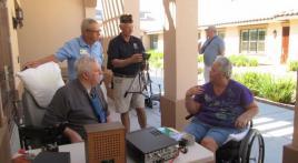 Ham Radio Day Arizona State Veterans Home