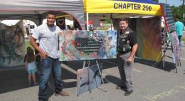Heroes heART helps veterans and first responders heal through art