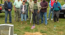 Veterans' grave markers