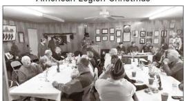 American Legion Post 96 (Murphy, N.C.) Christmas dinner