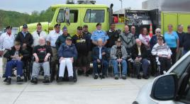 Local fire company supports veterans