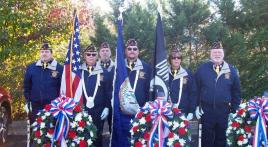 Veterans Day traditional service in Virginia
