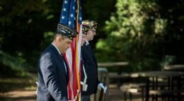 Color Guard leads September 11 remembrance ceremony