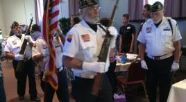 Honor Guard in VA Hospice Remembrance Ceremony