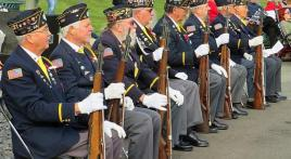 Veterans Day 2019 ceremony at Tahoma National Cemetery