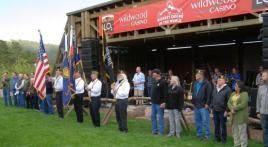 Post 1980 Honor Guard honors all veterans at rock concert