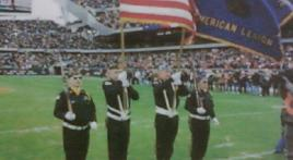 Post 76 presents colors for Chicago Bears game