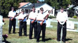 Cherryville ceremonial guard honors veterans