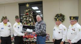Dover (Tenn.) Post 72 honor detail/guard receives special presentation
