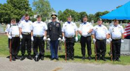 The Veterans Honor Guard dedicates itself to service