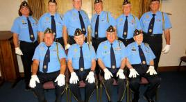 James O. Hall Post 19, Jennings, La., conducts 600th funeral protocol