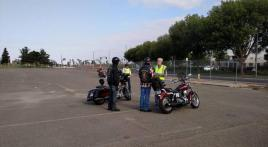 Motorcycle safety training