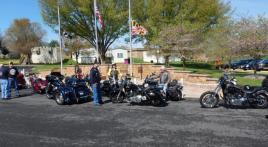 Francis Scott Key Post 11 does four-post hop in first 2019 Riders ride