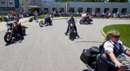 Winona (Minnesota) Legion Riders participate in parade