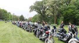 A memorable Riders Memorial Day KIA Run