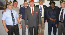 National Commander James E. Koutz Visits  Mississippi  Coast