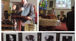 Col. Lewis L. Millett Memorial Post 38 Four Chaplains observance ceremonies