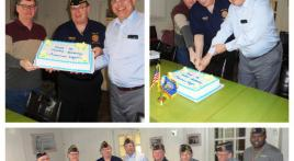 Col. Lewis L. Millett Post 38 celebrates American Legion's 98th birthday