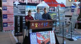 Post 731 officers partner with the 9/11 World Memorial Foundation