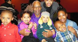 Grandkids and great-grandkids