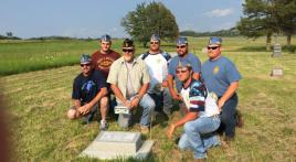 Civil War veteran gets headstone 92 years after his death