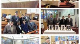 Final Four Chaplains ceremony at Yongsan Army Garrison, Seoul, Korea