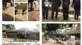 Col. Lewis L. Millet Post 38 visits Seoul Foreigners' Cemetery