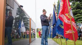 Columbia Falls revitalizes Memorial Wall