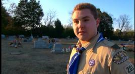 Eagle Scout identifies all veterans' gravesites within his community