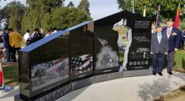 Gold Star Families Memorial Monument dedicated in California