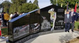 Gold Star Families Memorial Monument dedicated in California