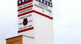 Town repurposes grain elevator to honor veterans