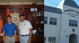 Alvin Myo Dunn Post 365 Emblem Restoration